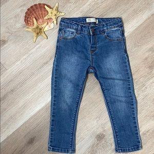 Zara Baby Girls Skinny Denim Wear Jeans 18/24 M
